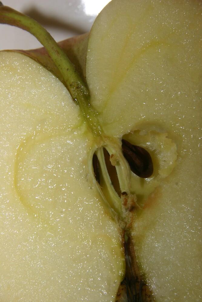 Macro Apple by JazzyCard