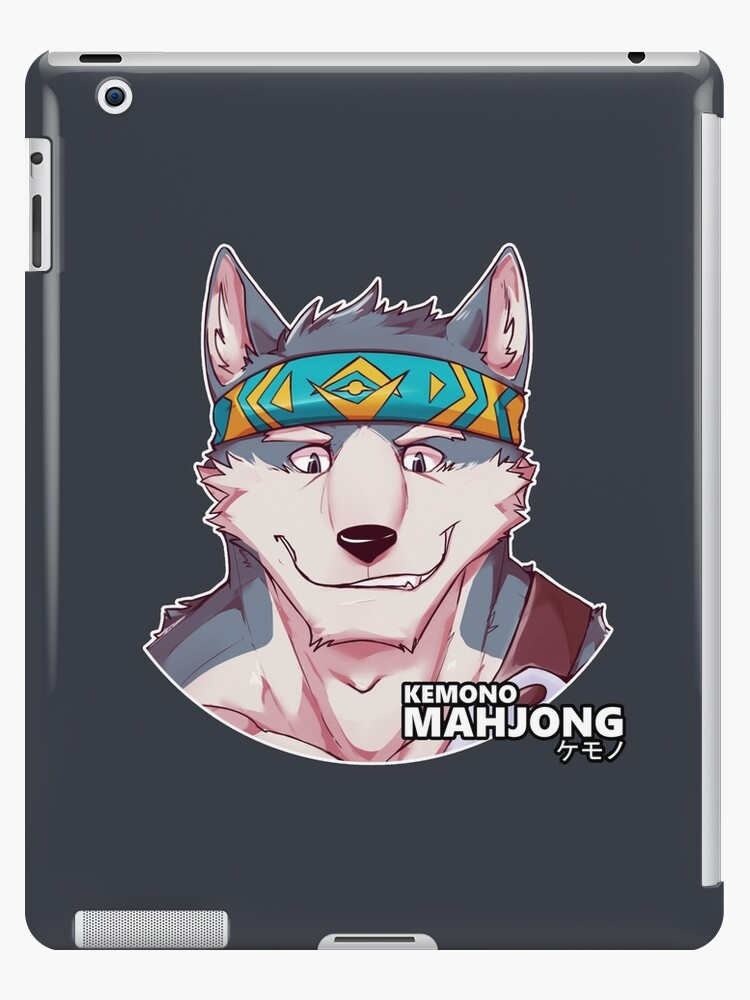 Flint the Wolf by Kemono Mahjong