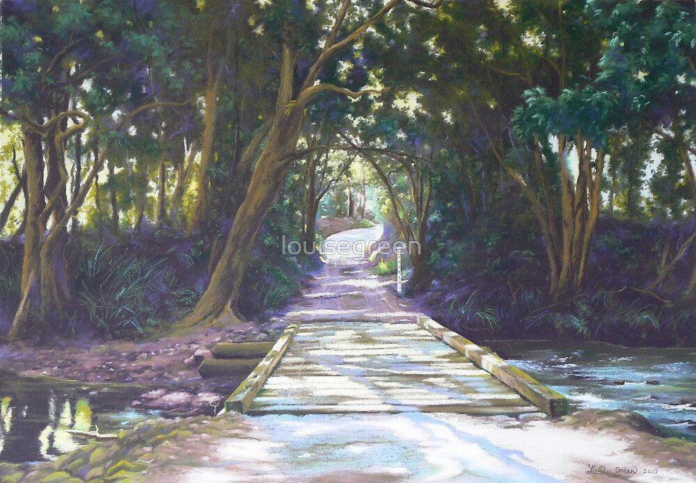 Sunlight & Shadow, Lansdowne River by louisegreen