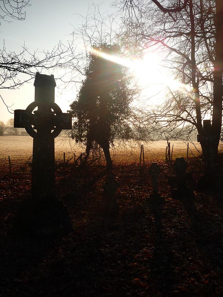 Graveyard Silhouettes by JazzyCard