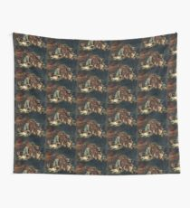 DELACROIX Barque de Dante  Wall Tapestry