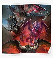 Monster Hunter World Elder Dragon Turf War Poster