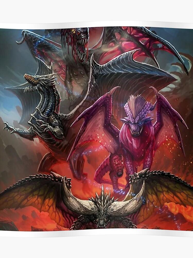Monster Hunter World Elder Dragon Turf War Poster