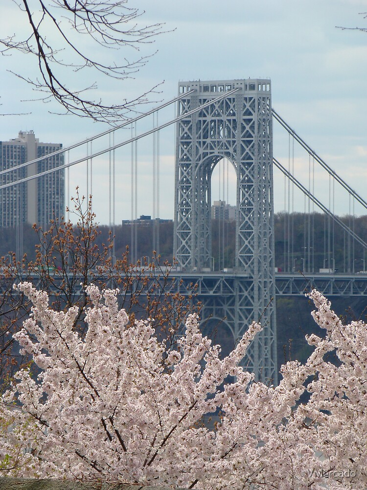 the GWB from fort tryon park by VMercado