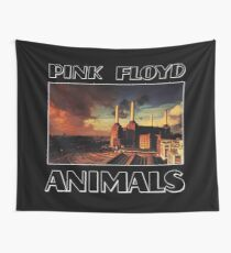 Pink Floyd Animals Tribute Wall Tapestry