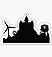 St Olaf Skyline Sticker