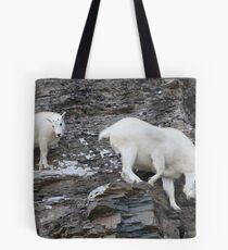 Rock Climbing Family Tote Bag