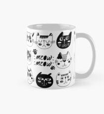 Funny Cat Faces Mug