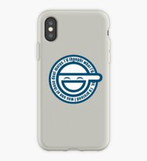Ghost in The Shell Laughing iPhone Case