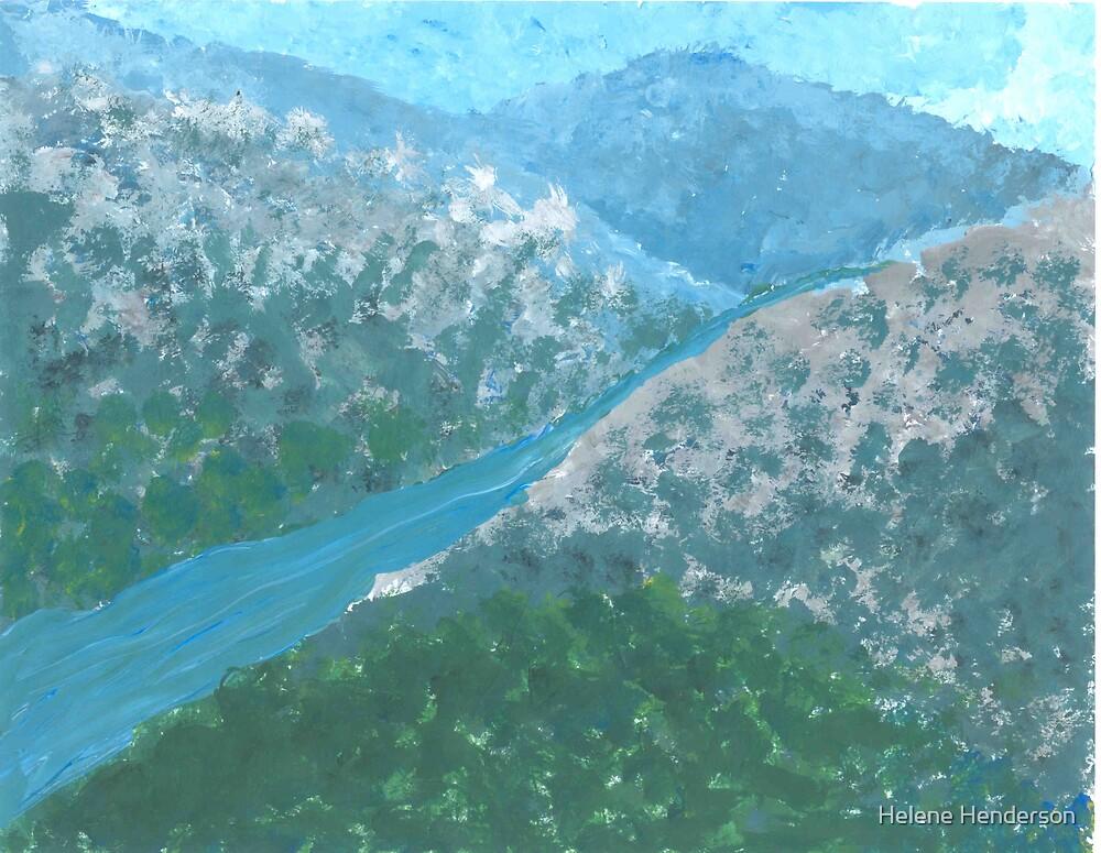 Mountain Stream by Helene Henderson