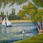The Seine at La Grande Jatte by Orla Cahill