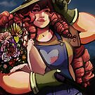 Rose Gardener  by jiinsy