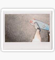 Skateboard - Instant Photography Sticker