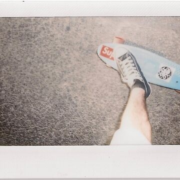 Skateboard - Instant Photography by zackpolaroid