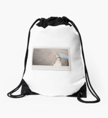 Skateboard - Instant Photography Drawstring Bag