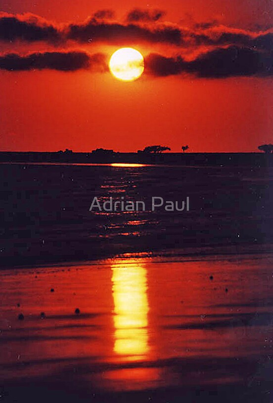 Sunrise, Cape Hillsborough, Queensland, Australia by Adrian Paul