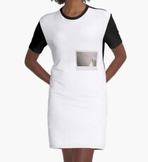 Skateboard - Instant Photography Graphic T-Shirt Dress