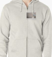 Skateboard - Instant Photography Zipped Hoodie