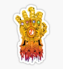 Avengers - Thanos Gauntlet Sticker