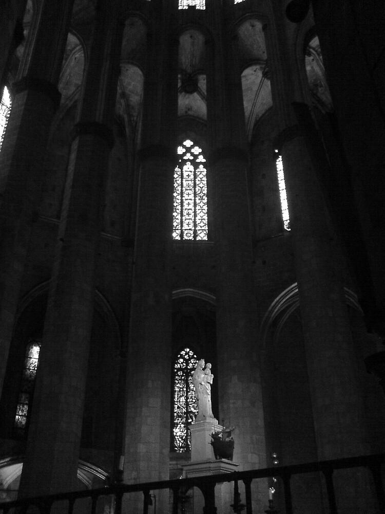 Santa Maria del Mar, Barcelona by woodgreenforest