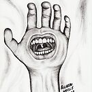 Screaming Hand by RicardoNassif