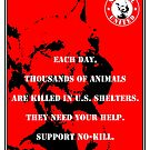 NO-KILL UNITED : ES EACH DAY (PRINT) by Anthony Trott
