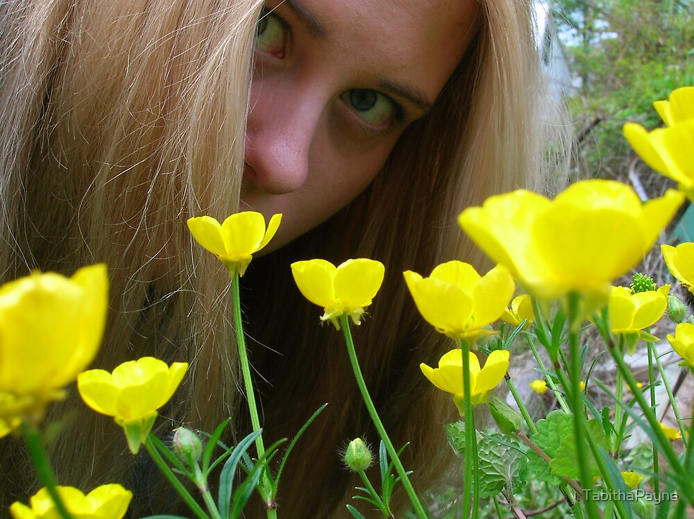 Among the Buttercups by TabithaPayne