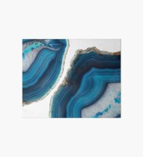Blue Agate Art Board