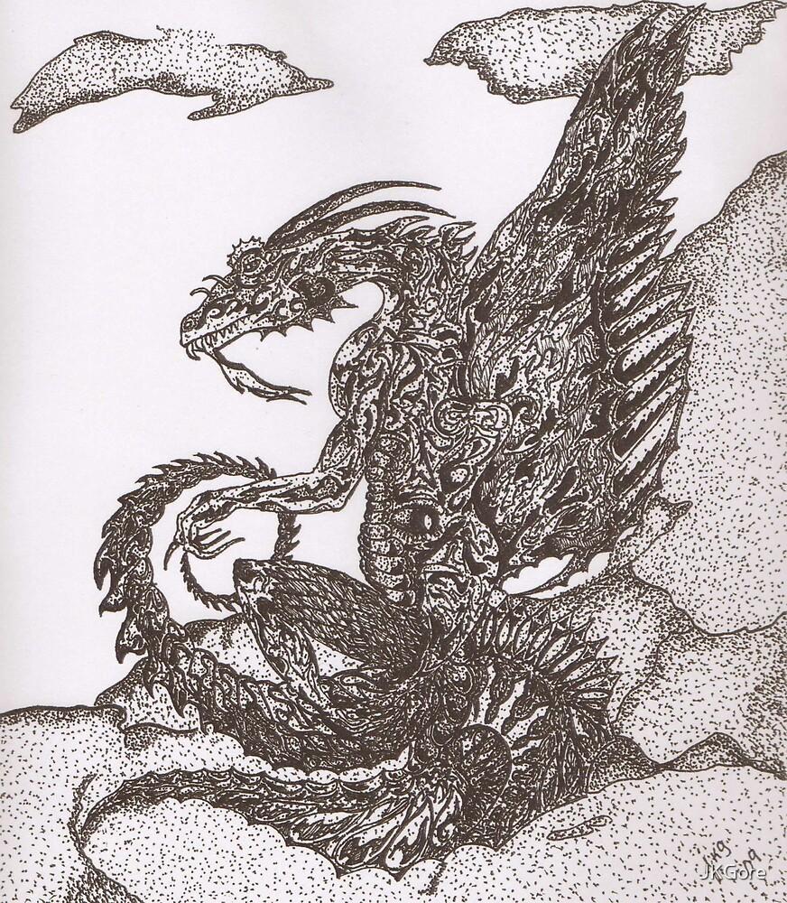 Dragon (original) by JKGore