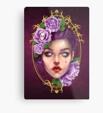 Your Lies Are Beautiful Metal Print