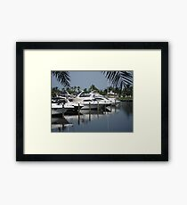 Boating Community Framed Print