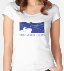 The Cairngorms - Ecosse T-shirt échancré