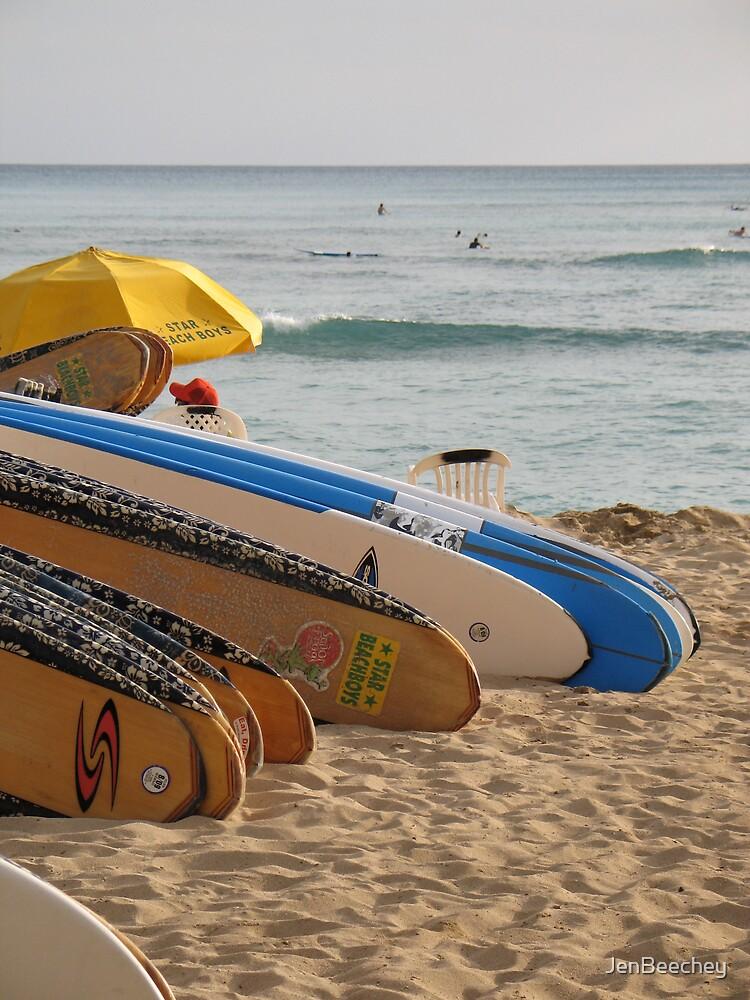 Surfboards 2 by JenBeechey