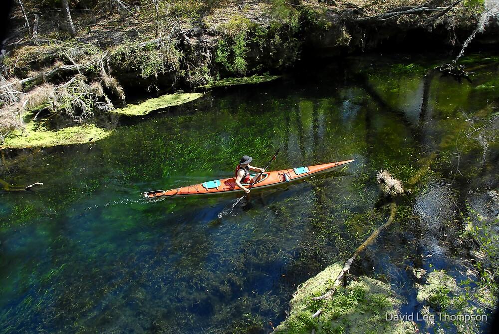 Kayaking by David Lee Thompson