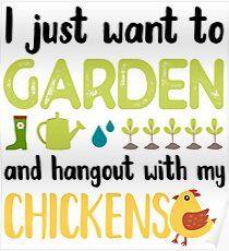 Gardening Humor Gift Poster