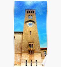 UWA Clock Tower Poster