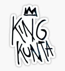 King Kunta Kendrick Lamar Tee Sticker