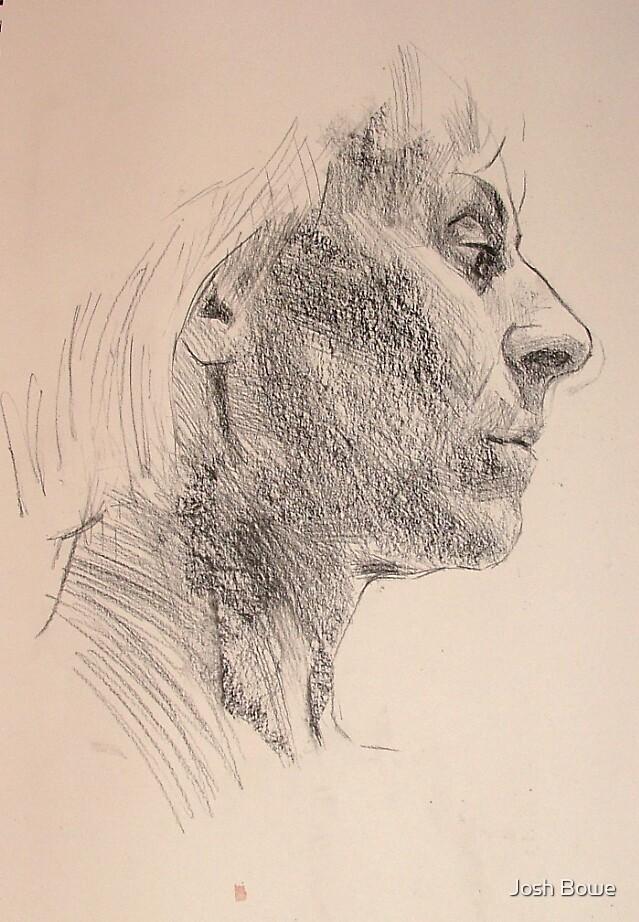Portrait of Viv 2 by Josh Bowe