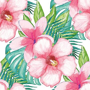 Hibiscus Watercolor by HawaiiArthst