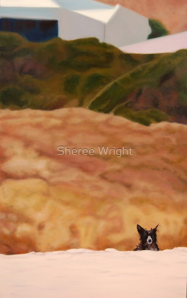 Preservation- oil on canvas by Sheree Wright