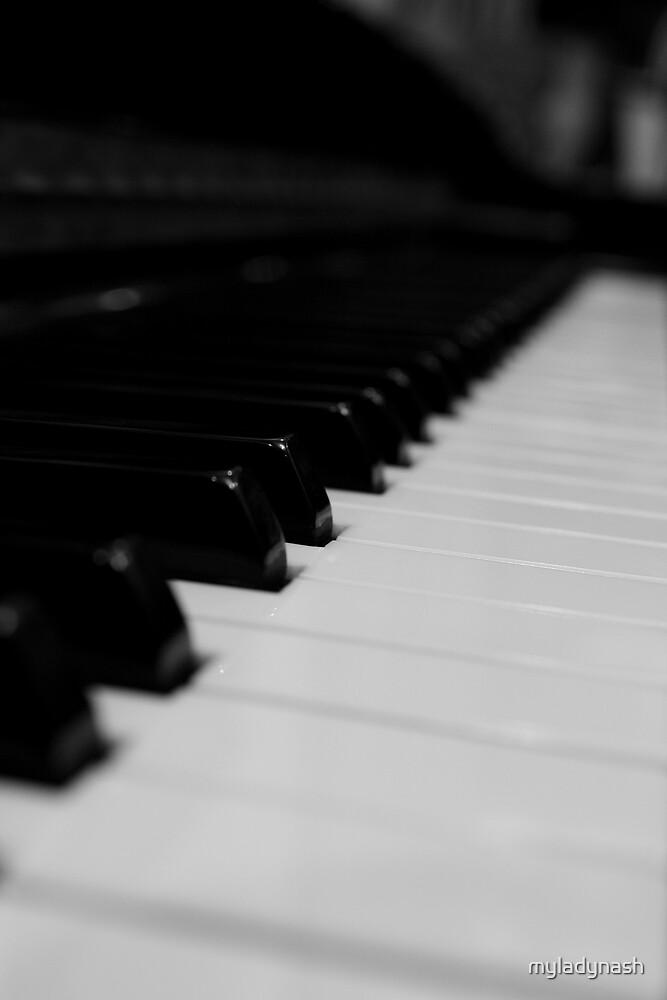 Piano by myladynash