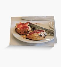 Scrummy Scones Greeting Card
