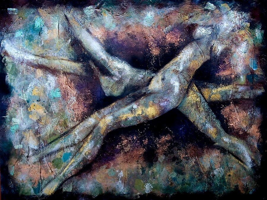 nude swimmers- awakening by Nicole Duyst