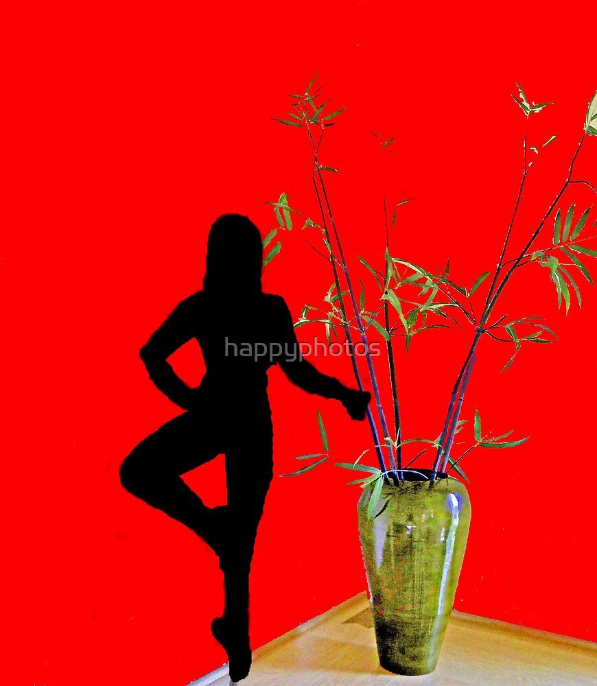 Ballerina and the vase by happyphotos