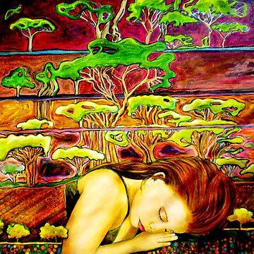 Jade's Dream - Oil Painting by BillyLee
