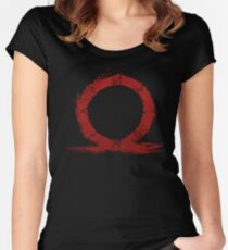 god of war Women's Fitted Scoop T-Shirt