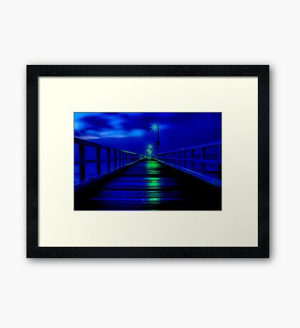 """Walk in The Light"" Framed Print"
