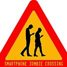 Smartphone Zombie Crossing by ayemagine