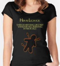 Monkey Island - House LeChuck Women's Fitted Scoop T-Shirt