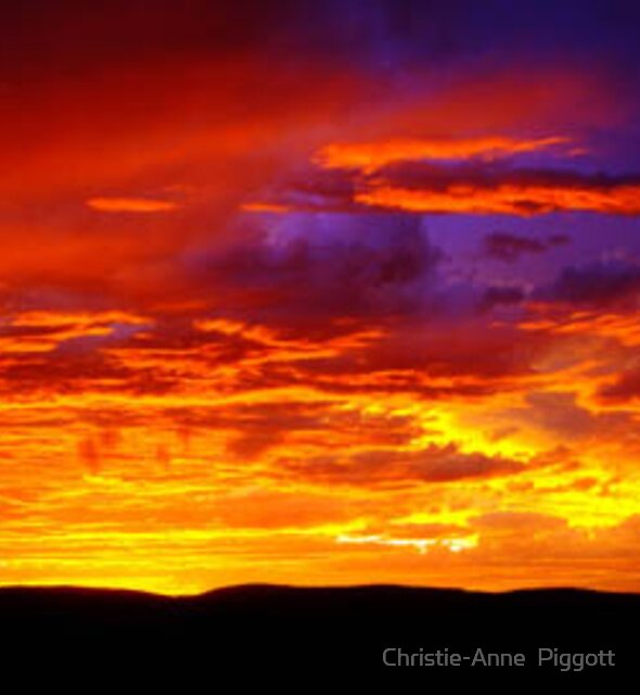 sunset  by Christie-Anne  Piggott